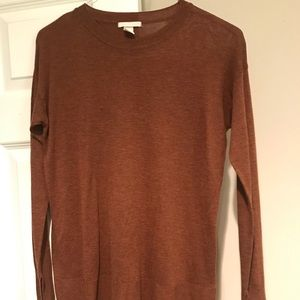H&M High/Low Sweater, Small